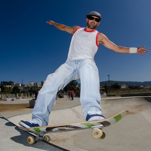 Sport answer: SKATEBOARD