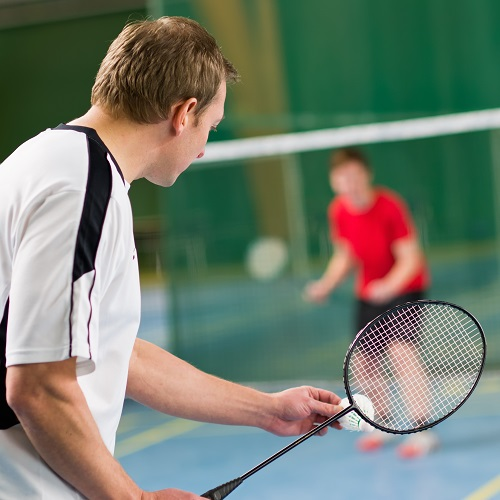 Sport answer: BADMINTON
