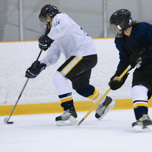Sport answer: HOCKEY SUR GLACE