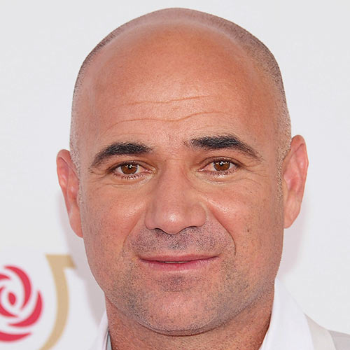 Sports Stars answer: ANDRE AGASSI