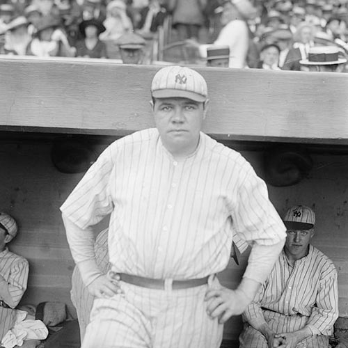 Sports Stars answer: BABE RUTH