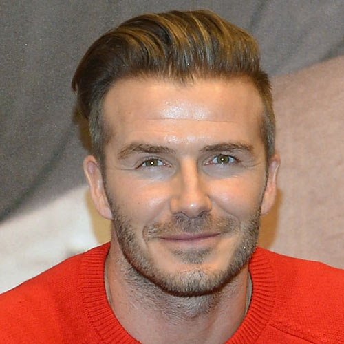 Sports Stars answer: DAVID BECKHAM