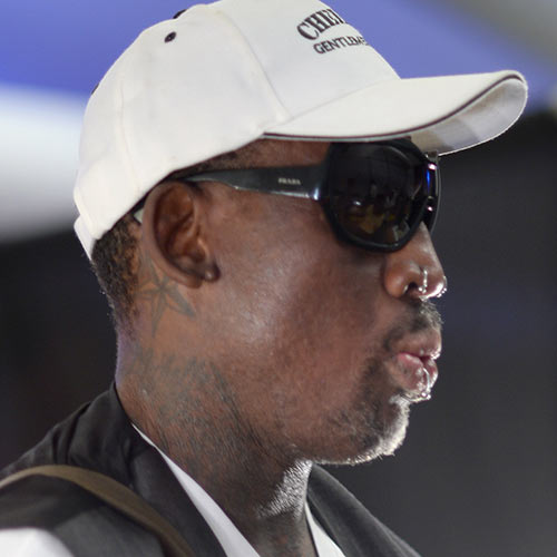 Sports Stars answer: DENNIS RODMAN