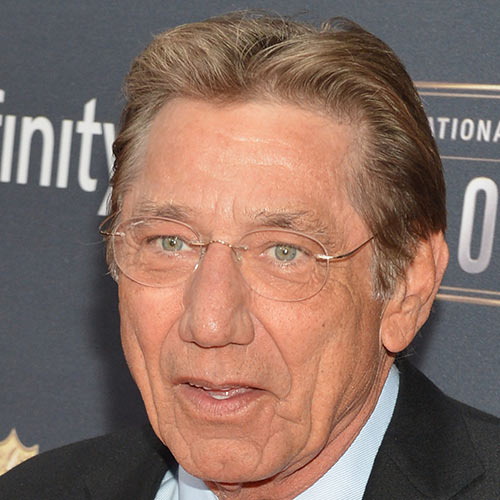 Sports Stars answer: JOE NAMATH