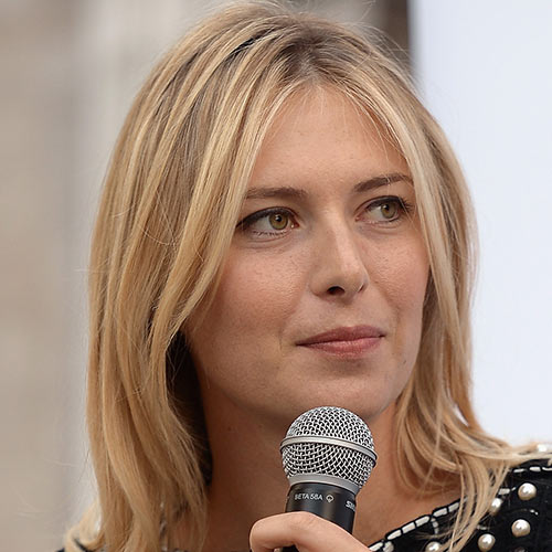 Sports Stars answer: MARIA SHARAPOVA
