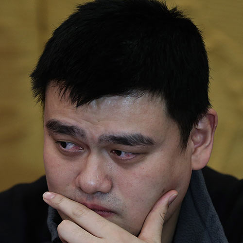 Sports Stars answer: YAO MING