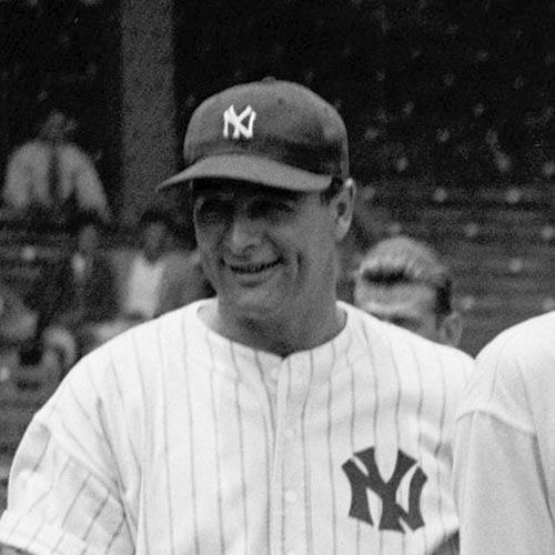Sports Stars answer: LOU GEHRIG