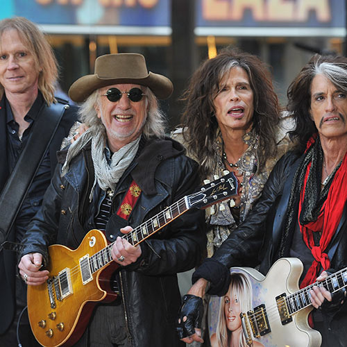 Stars de la Pop answer: AEROSMITH