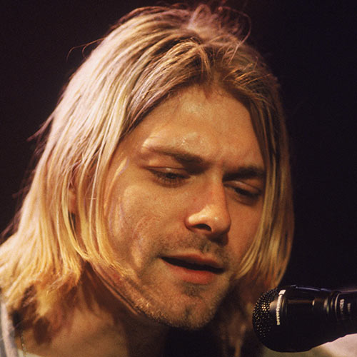 Stars de la Pop answer: KURT COBAIN