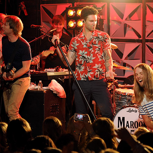 Stars de la Pop answer: MAROON 5