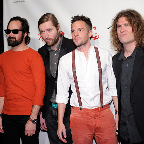 Stars de la Pop answer: THE KILLERS