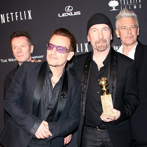 Stars de la Pop answer: U2