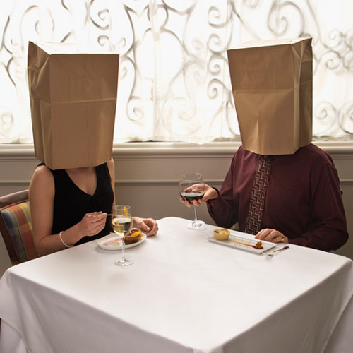 St Valentin answer: BLIND DATE