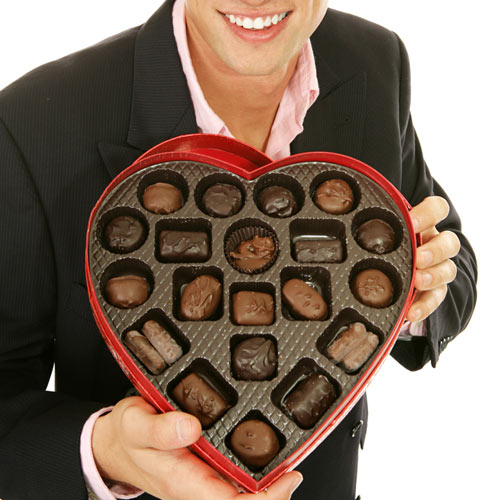 St Valentin answer: CHOCOLATS