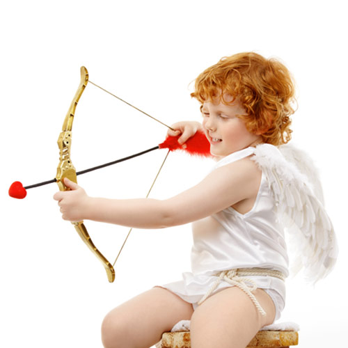St Valentin answer: CUPIDON