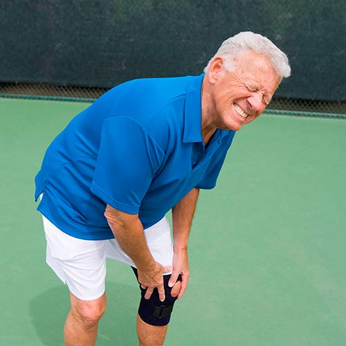 Tennis answer: BLESSURE