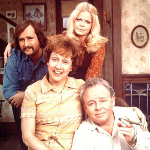 TV Shows 2 answer: ALL IN THE FAMILY