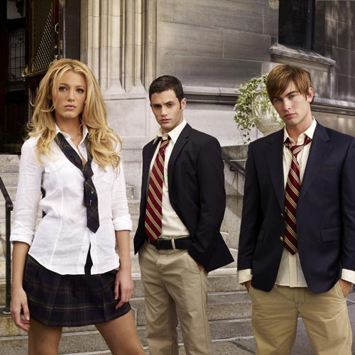 TV Shows 2 answer: GOSSIP GIRL