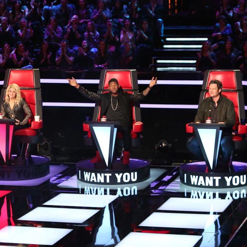 TV Shows 2 answer: THE VOICE