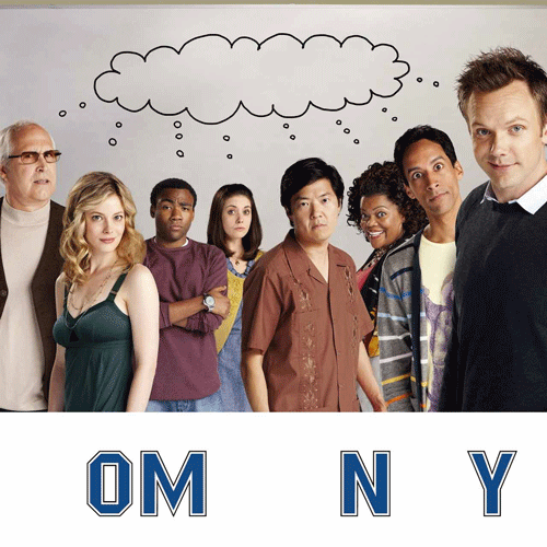 TV Shows 2 answer: COMMUNITY