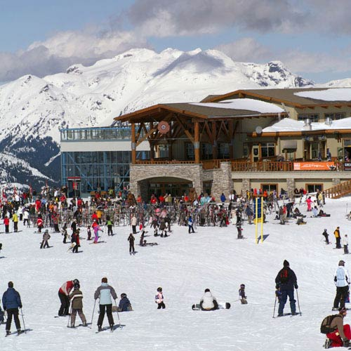 Vacances answer: STATION DE SKI