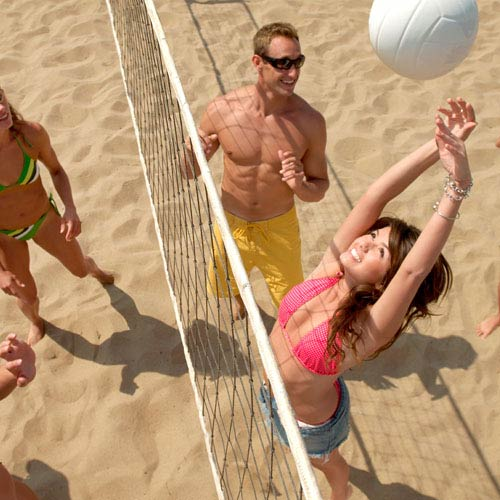 Vacances answer: BEACH-VOLLEY