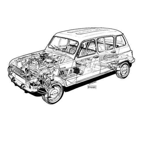 Voitures de collection answer: RENAULT 4