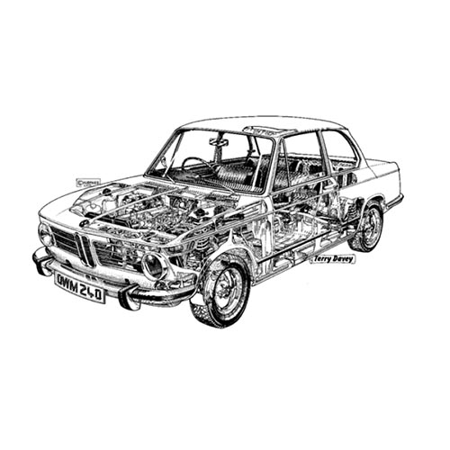 Voitures de collection answer: BMW 2002