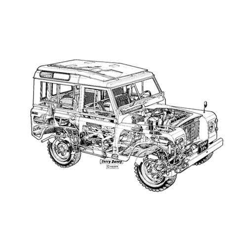 Voitures de collection answer: LAND ROVER