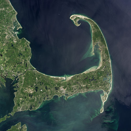 Earth from Above answer: CAPE COD