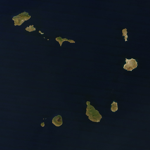 Earth from Above answer: CAPE VERDE