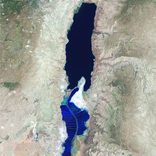 Earth from Above answer: DEAD SEA