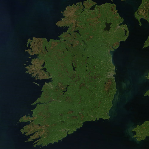 Earth from Above answer: IRELAND