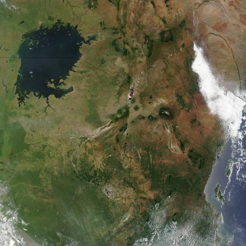 Earth from Above answer: LAKE VICTORIA