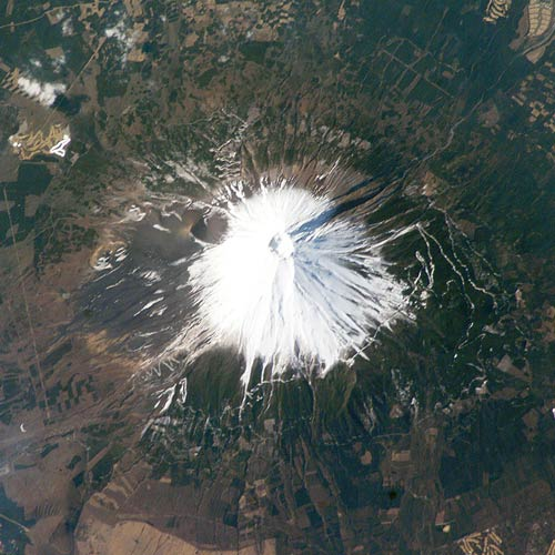 Earth from Above answer: MOUNT FUJI