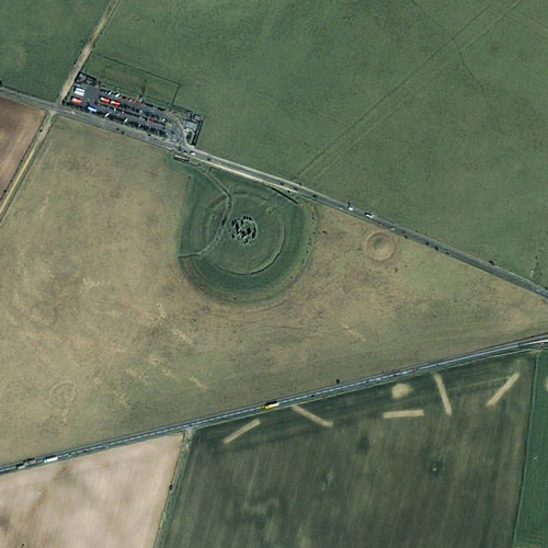 Earth from Above answer: STONEHENGE