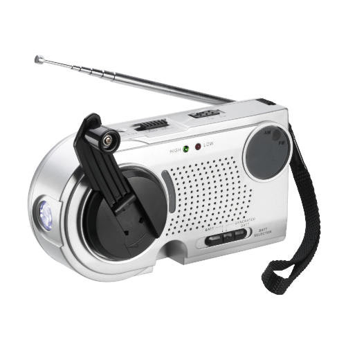 Gadgets answer: WIND-UP RADIO